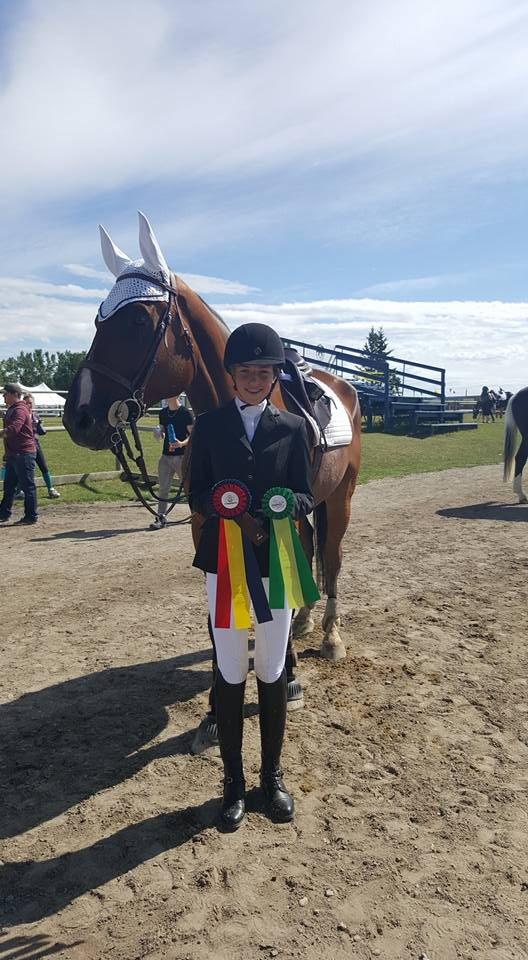 Quarís by Quidam Blue, with rider & owner Kassidy Simmons