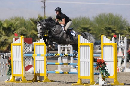 Quidam Blue with amateur rider Beke Brinkmann