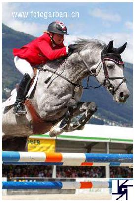 Quidam Blue competing in Ascona, Switzerland