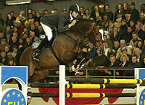 Portland L showing in Germany with rider Marco Kutscher.
